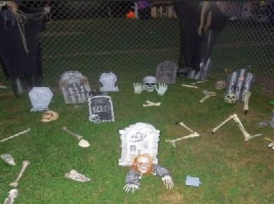 Cemetary and Bones