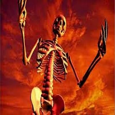 Skeletons and Halloween