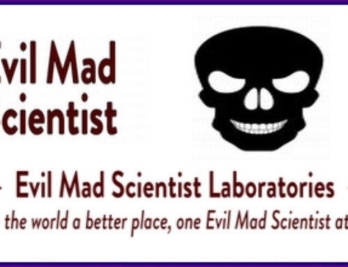 Evil Mad Scientist on Science Friday