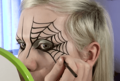 Spider Makeup - HalloweenEventsUSA.com