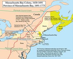 Massachusetts Bay Colony 1692